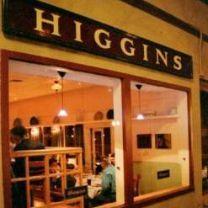 Higgins Restaurant & Bar, Casual Elegant Organic cuisine.