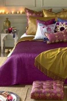 Bedroom With some Moroccan spice