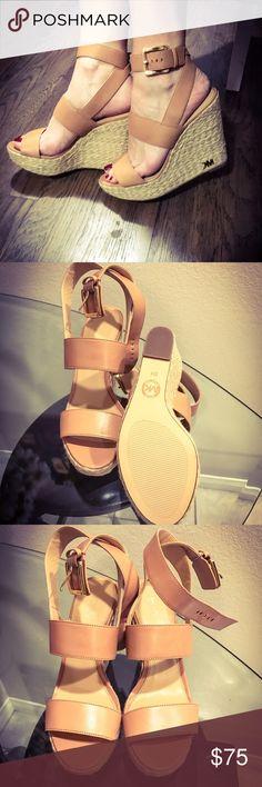 NEW! Michael Kors Wedges New in box Michael Kors wedges size 8. Michael Kors Shoes Wedges