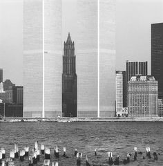NYC. View from Jersey City, New Jersey, 1972 // David Plowden
