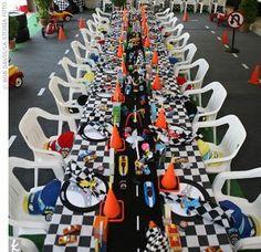 mesa de corrida