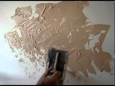 DIY wall texture for basement bath.. This site has tons of great textures and how to do them!!