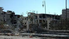 27. Juli, #Syrien: Das vom #Bürgerkrieg zerstörte #Homs. Foto: dpa Mehr Bilder des Tages hier: www.noz.de/73707783/