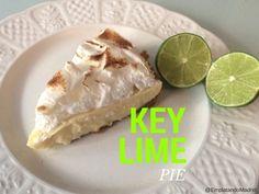 Key lime pie: tarta de lima de Florida