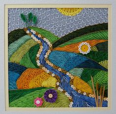 Quilling by Sandra White.