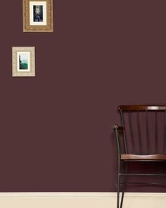 Our deep #aubergine colour, #Brinjal, will add a sophisticated and rich hue to your room when painted with the #FarrowandBall #twolayer paint method. #paintfacts #paintprep #interiordesign