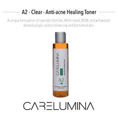 Clear Toner is Step 2 in your complete acne skin care system by Carelumina. #Carelumina #GetIlluminated #Skincare #Glow #GlowingSkin #Beauty #Moisturize #CrueltyFree #Beautiful #Natural #GlowUp #SkinFood #HealthyLiving #CleanSkinCare #Products #HealthySkin #Facial #Antiaging #Rejuvenate #Regimen #Routine