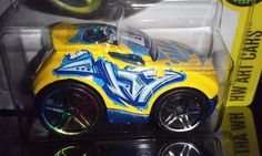 HOT WHEELS 2017 ART CARS # 10/10  ROCKET BOX    #HotWheels