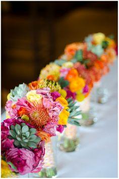 www.weddingrowcalifornia.com | Palm Springs Wedding | Vibrant Colors