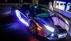 """Tron"" Lamborghini Aventador"