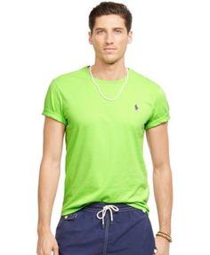 Polo Ralph Lauren Custom-Fit Jersey T-Shirt