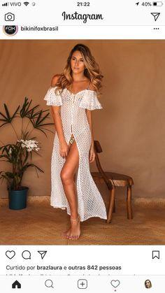 Come to Papa Beach Dresses, Sexy Dresses, Summer Dresses, Dress Beach, Women's Summer Fashion, Boho Fashion, Fashion Outfits, Outfit Strand, Bikini Dress