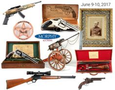 Auction: Firearms, Militaria, Sporting & Fishing - Morphy Auctions' June 9th-10th, 2017 Firearms Sales Event promises to be the company's highest grossing firearms auction to date. The bidding starts promptly at 9:00 AM each day. All lots from this event are on display in Morphy's Denver auction gallery and available for preview now and will Include over 1,100 Lots of Guns, Knives, Swords, and Other Militaria, Including Numerous Museum Quality Examples and Rarities.