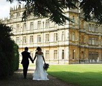 Wedding at Highclere (Downtown Abbey)