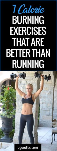 These body building calorie burning exercises are better than running
