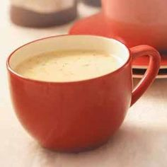 Makeover Cauliflower Soup Recipe - dinner tonight...will definitely make again. This makes a large pot.  The only thing I would do different is to leave some of the cauliflower whole as opposed to pureeing the entire batch.