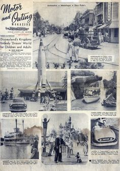 August 1955 - Disney was 1 month old!