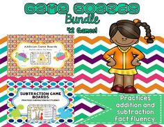 Game Boards Bundle - Real Time - Diet, Exercise, Fitness, Finance You for Healthy articles ideas Math Activities For Kids, Hands On Activities, Teaching Resources, Kindergarten Games, Teaching Ideas, Primary Teaching, Teaching Math, Game Boards, Board Games