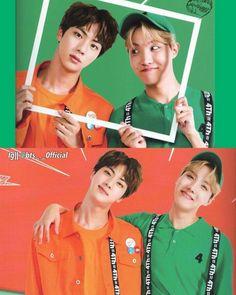 2seok Jin and Jhope