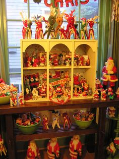 Love so many of these items. They obviously don't know the plastic light-up Santas should be one per room :)so cool