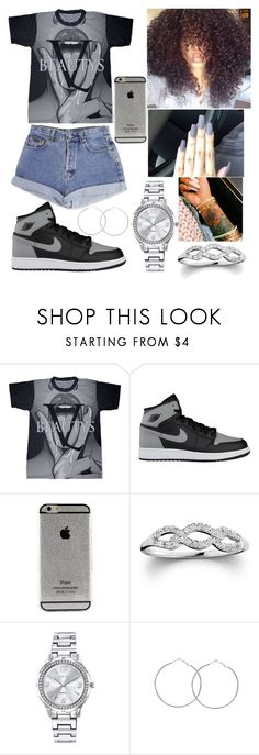 """Untitled #197"" by kya-booda ❤ liked on Polyvore featuring Calvin Klein, NIKE, Bliss Diamond and Mestige"