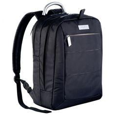 Ferraghini back pack laptop bag bag. Micro-fibre material with aluminium handle Fibre Material, Gadget Gifts, Laptop Bags, Suitcase, Packing, Handle, Backpacks, Bag Packaging, Backpack