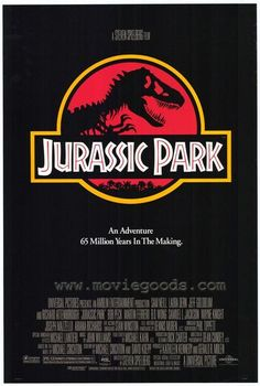 """Jurassic Park"" Film Poster from 1993 x Restored & linen-backed. Ask about poster restoration services! Jurassic Park Film Poster from 1993 63 x 47 Restored & linen-backed. Ask about poster restoration services! Jurassic Park Poster, Jurassic Park 1993, Alfred Hitchcock, Wayne Knight, Ariana Richards, Love Movie, Movie Tv, Movie Sequels, Movie Plot"
