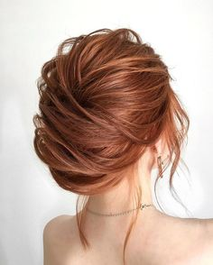 Beautiful french chignon wedding hairstyle idea - wedding hair ,hairstyle ,updo ,messy updo ,hair updo ideas ,hair ideas ,bridal hair ,french chignon ,messy updo hair ,wedding hairstyles ,hairstyles ,hairs ideas