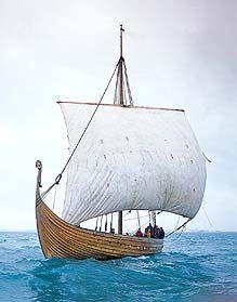 """Islandigur"" (Icelander) viking ship replica"