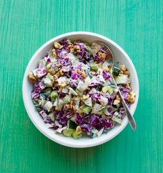The horseradish in this crunchy slaw adds an unexpected kick.