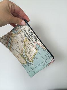 Neceser mapa mundi  de @lapetitamaria