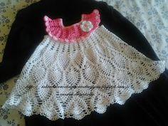 CROCHET DE ANTONIA: VESTIDOS NIÑA DE CROCHET DE 6 A 12 y 24 MESES Baby Dress Patterns, Summer Dresses, Baby Dresses, Crochet Baby, Crochet Dresses, Clothes, Crocheting, Toddlers, Blog