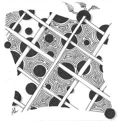 Muster Mixer #11 | Freude mit Zentangle