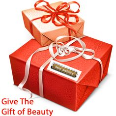 Giving the gift of beauty