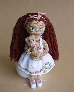 И еще одно фото нежной девочки!  Люблю ее очень сильно,  смотрю и радуюсь) Кукла свободна  And one more photo tender girl! I love her very much, and I look happy) For Sale  #doll #crochet #instadoll #handmade #crocheting #instacrochet #crochetdoll #вязаннаякукла #подарок #куклыназаказ #кукларучнойработы #collectiondoll #toys #кукла #ручнаяработа #амигуруми #amigurumi #amigurumidoll #mozgovkina_doll #миникукла #bear #teddy #teddybear #мишка #медведь #тедди #коллекционирование #amigurumido...