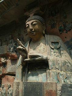 Buddhist Rock Art - Dazu, China