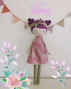 Hello spring! The purple doll is AVAILABLE IN MY ETSY SHOP!!!!! Is adorable Is sweet Is handmade % AVAILABLE IN MY ETSY SHOP TODAY!!! #mbdesings #handmade #handmadedoll #handmadetoys #dollsforkids #softdoll #sweetdoll #doll #makerdoll #dolls #sweet #muñeca #cottondoll #cotton #felt #feltdoll #heirloomdoll #hechoamano #work #poupée #wool #picoftheday #flower #dollmakingprocess #etsy #etsyshop #portrait #purple #purpledoll