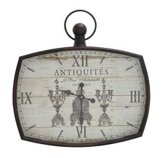 Kin-Kin Artistic Decor Wall Clock