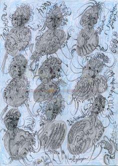 Noviadi AngkasapuraUntitled, 2015Graphite, ink and crayon on paper11.6 x 8.2 inches29.5 x 20.8 cmNoA 168http://www.cavinmorris.com