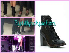 Report Allon Lace Boot-- Worn at the Hamilton, Canada concert on April 7, 2014 I HAVE BEEN DROOLING OVER THESE FOREVER