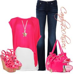 """""""pink n gold"""" by candy420kisses on Polyvore"""