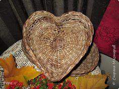 Поделка изделие Плетение Золотая осень и плетенки Бумага газетная Трубочки бумажные фото 7