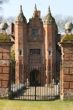 """West Stow Hall - a hidden gem! """"The gatehouse and Hall may have been built by the last abbot of Bury St Edmunds about 1520 although more likely by John Croft a wealthy merchant."""""""