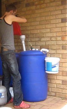 Biogas Digester - Feeding My Digester 01