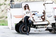 Get this look: http://lb.nu/look/8568009  More looks by Cosmina M. //mbcos.net: http://lb.nu/mbcos  Items in this look:  Deartee Tshirt, Elvio Zanon  Boots   #minimal #sporty #street #dearteeblogger #ootd #spanishfashionblogger #bestlooks #sleek #followme