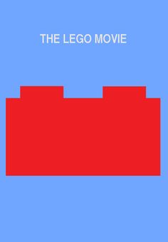 The Lego Movie minimalist poster by thearist2013