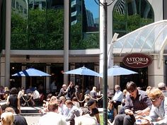 Caffe Astoria, Lambton Quay, Wellington, New Zealand - my sister used to almost camp here - she variously worked on Lambton Quay & The Terrace & enjoyed their coffee !!