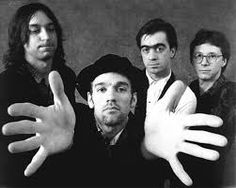 "R.E.M.. - not just Stipe, but the entire band. From the oft-time bizarre lyrics with as much sound intonation as meaning, to the arrangements by three stellar musicians to the slightly off-key, freedom of Stipe's voice. I've written at least 3 poems listening to ""Night Swimming"" alone."