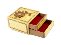 Handmade jewel box - secrets in the drawers
