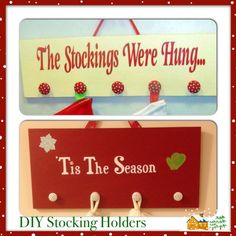 DIY stocking holders